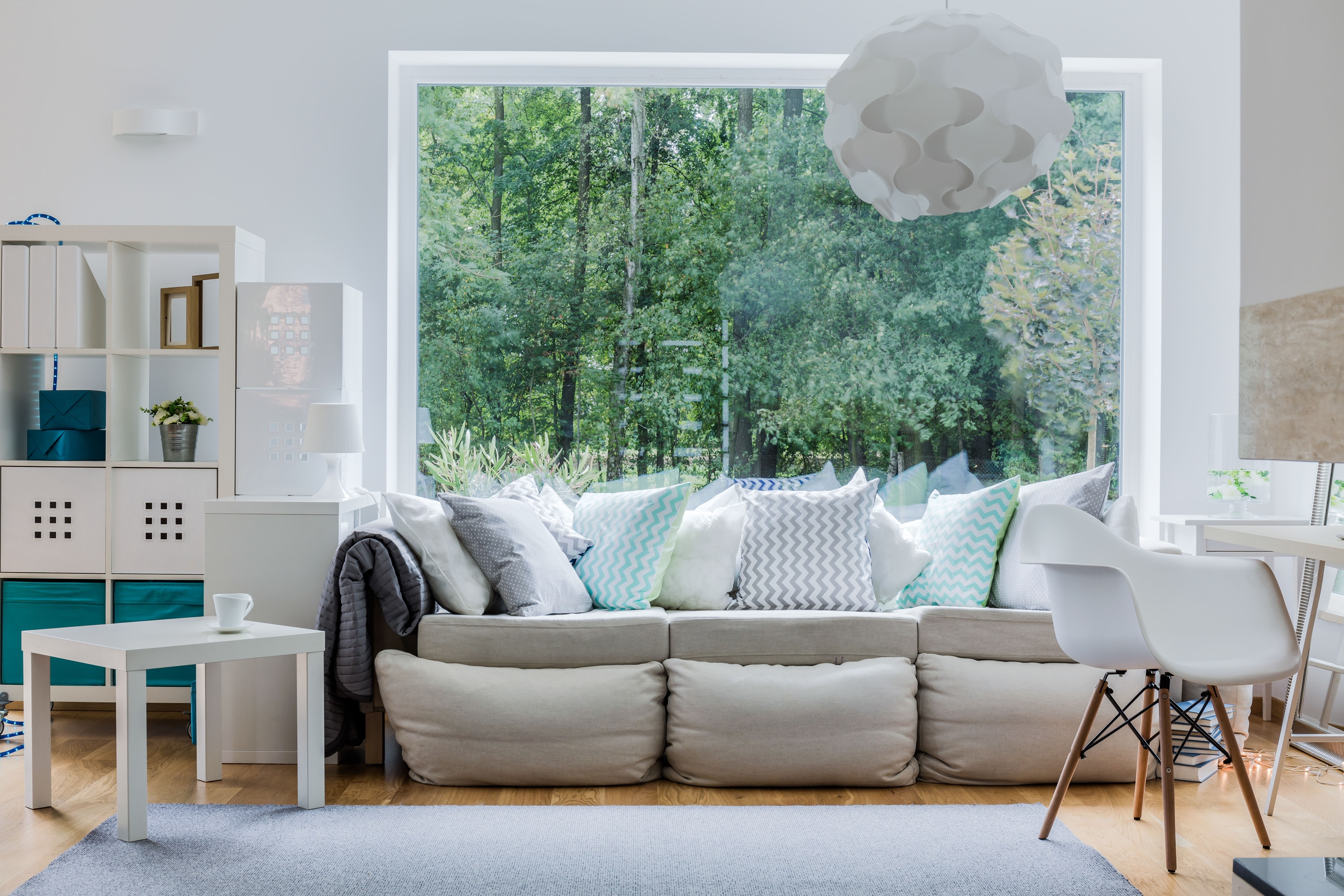 How to make small spaces look bigger